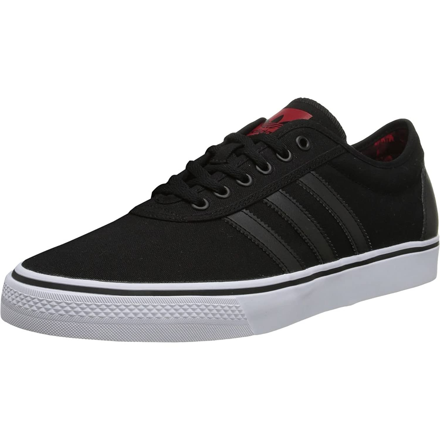 Adidas Adi-Ease Black / Red Skate Shoes