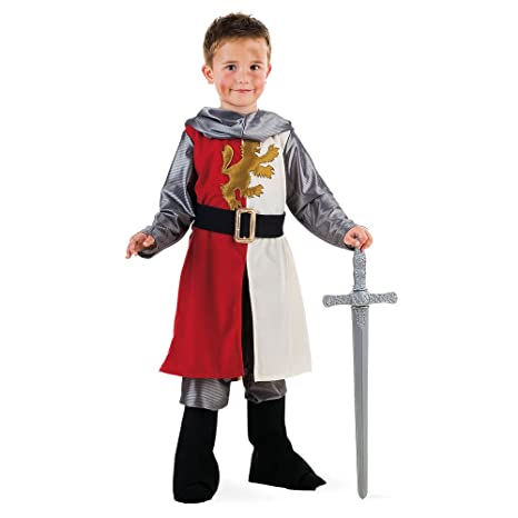 Limit Sport - Disfraz medieval de Cid para niños, talla 5 (MI420)