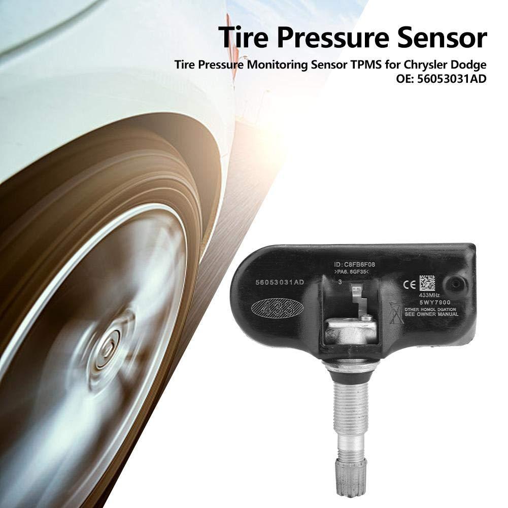 Sensor de monitoreo de presi/ón de neum/áticos TPMS para C-hrysler D-odge 56053031AD Broco Sistema de monitoreo de presi/ón de neum/áticos