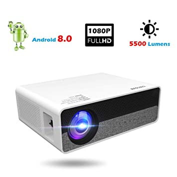 Inson Proyector de Video Full HD 1920 x 1080 Proyector de Cine en ...