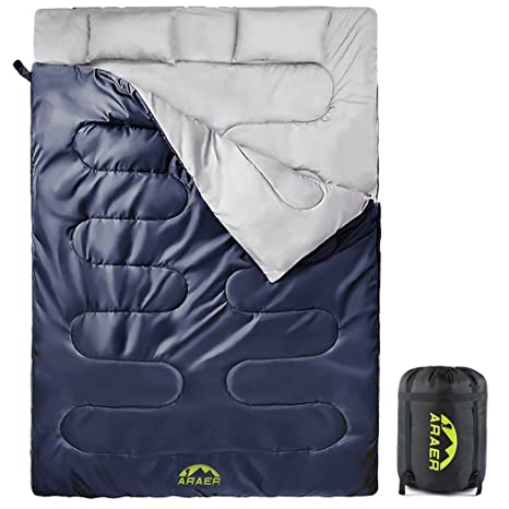 9d66f3bdf0f Cotton Flannel Double Sleeping Bag For Camping