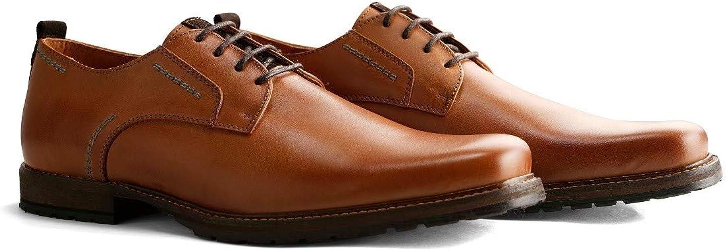 Travelin' London Low Herren Business Schuhe Leder: