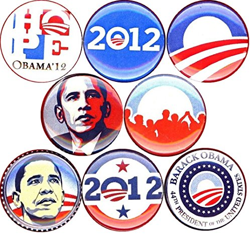 Obama Jewelry - Barack Obama set of 8 NEW 1