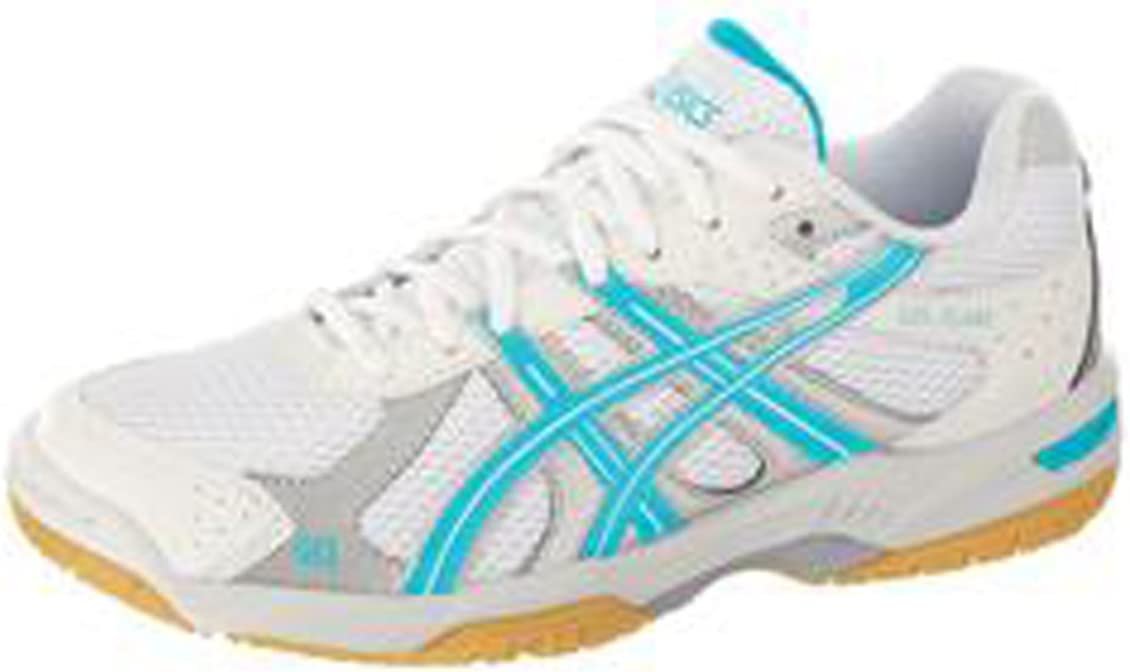 ASICS Intersport Ind – Zapatillas de Gel Flare W WH/Turquoise/SI ...