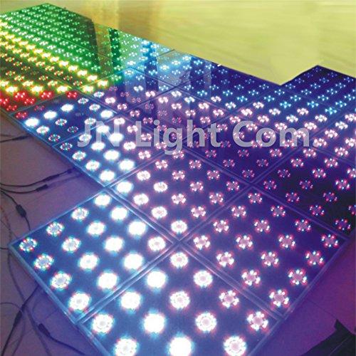New LED Stage Floor KTV Bar LED Tempered Glass Dance Floor Colorful LED Light