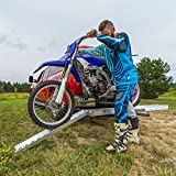 Black Widow Hitch-Mounted Aluminum Motorcycle