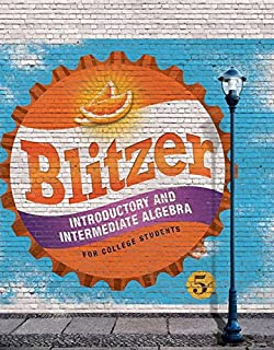 Blitzer introductory algebra for college students, 5th edition.