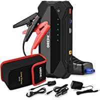 GREPRO Car Jump Starter 1500A 18000 mAh(Up to 8.0L Gas or 6.0L Diesel Engine) 12V Auto Battery Booster Portable Power…