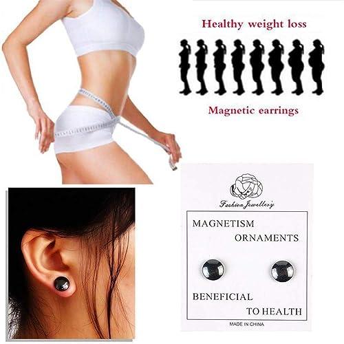 Bio Magnetic Abnehmen Ohrringe Unisex Magnet Gesundheitswesen Nicht