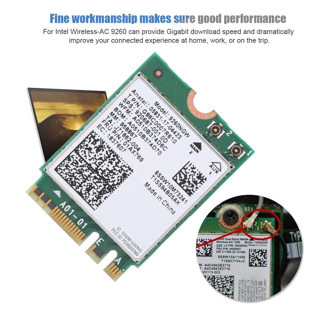 Amazon.com: ASHATA - Tarjeta de red inalámbrica para Intel ...