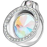 lenoup Glitter Bling Bling Phone Ring Holder,Sparkle Phone Ring Artificial Diamond Stand,Rhinestone Cell Phone Finger…