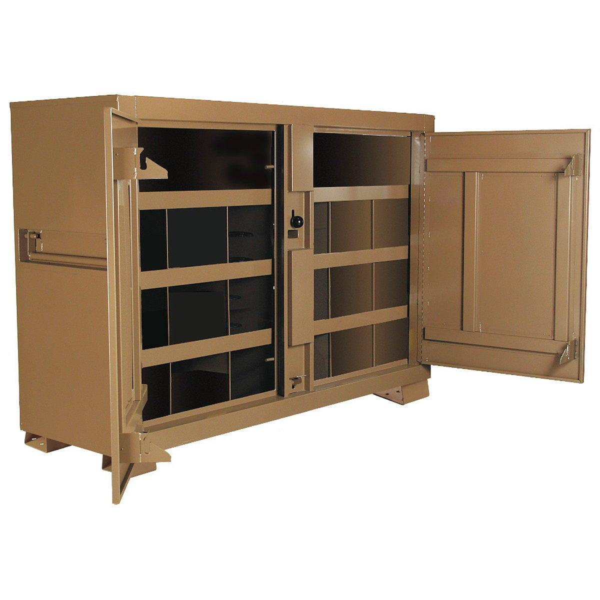 Amazon.com: Knaack 129 Jobsite Bin Storage Cabinet, 48 cu. ft ...