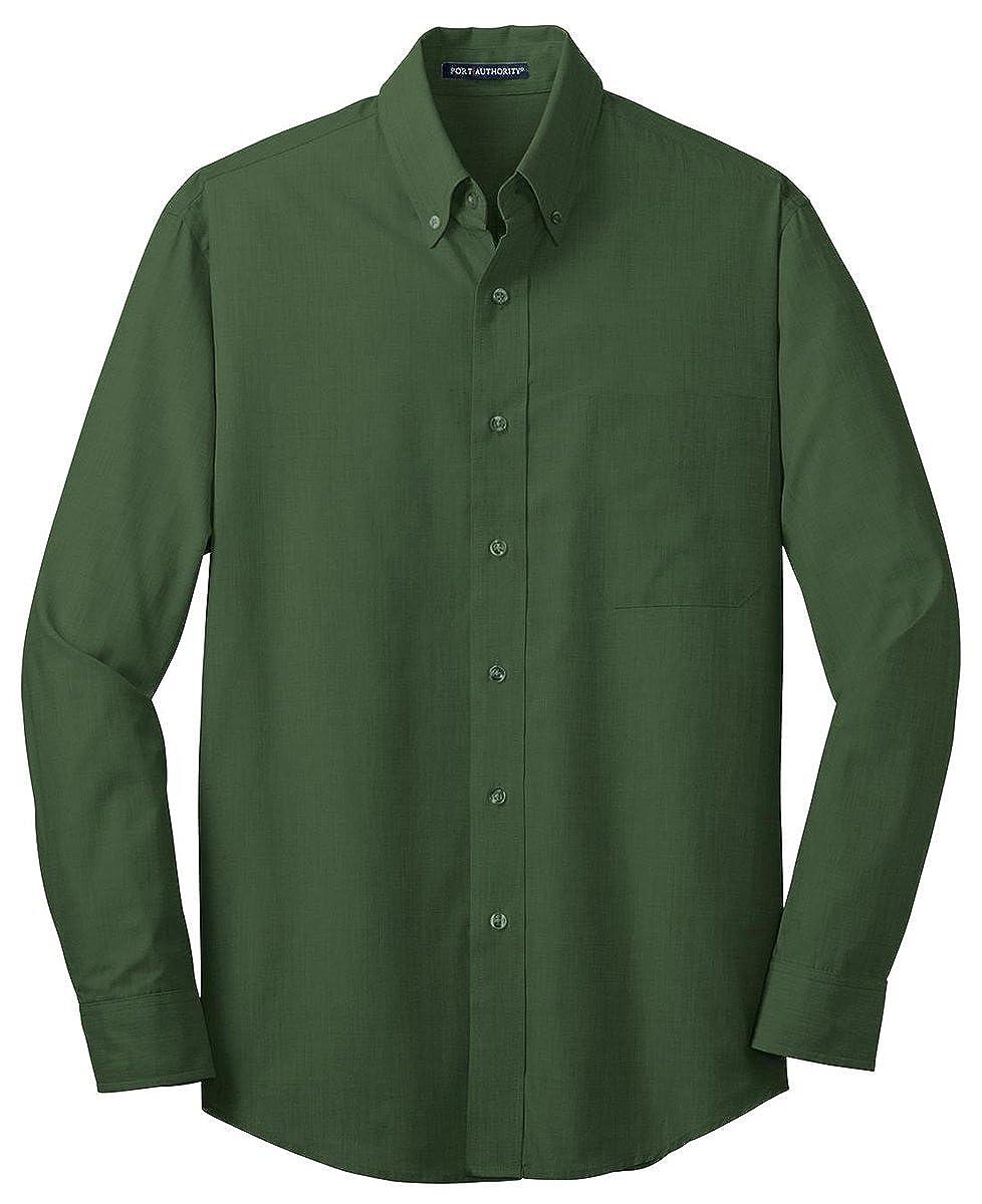 Port Authority Tall Crosshatch Easy Care Shirt TLS640