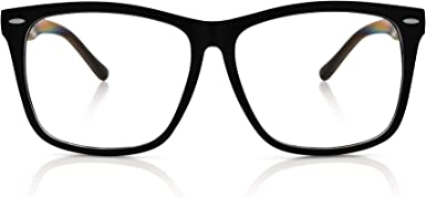 Nerd Quality Classic Round Designer Unisex Womens Mens Clear Lens glasses 58