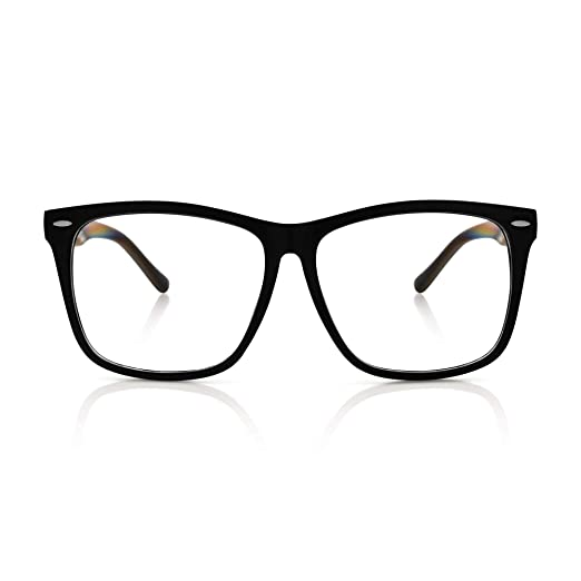 ce74b10316d65 5zero1 Fake Glasses Big Frame Nerd Party Men Women Fashion Classic Retro  Eyeglasses
