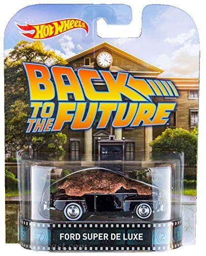 48 Ford Super De Luxe Back To The Future Hot Wheels 2015 Retro Series 1/64 Die Cast Vehicle