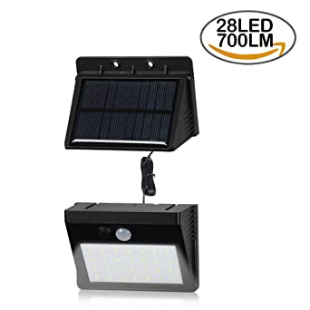 T sun 28 led detachable solar motion sensor light solar powered t sun 28 led detachable solar motion sensor light solar powered security light aloadofball Image collections