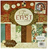 Die Cuts With a View 48-Sheet Premium Stack, 12-inches by 12-inches, Far East