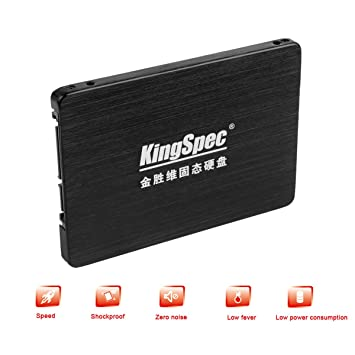 KingSpec 256 GB con 256 MB Cache 6,35 cm SATA y # x2162; 6 GB/s ...