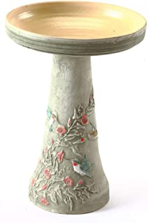 product image for Burley Clay Hummingbird Bird Bath Set