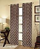 CHD Home Textiles Grand Island Curtain Panel, Stone