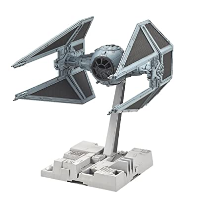 Bandai Hobby Star Wars 1/72 Tie Interceptor Building Kit: Bandai Hobby Gunpla: Toys & Games