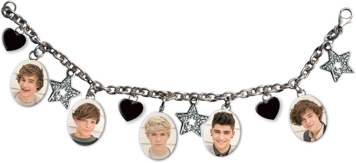 1D One Direction Harry Styles gomoso blanco pulsera pulsera Oficial