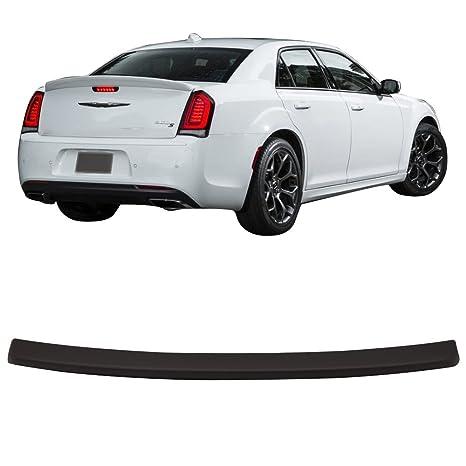 Tronco Alerón para 2015 – 2018 Chrysler 300 | SRT estilo mate negro ABS añadido en