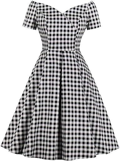 Nouveau Bébé Fille Noir Blanc Grand Vichy Carreaux Blouse Top Robe Gothique Cadeau Fête