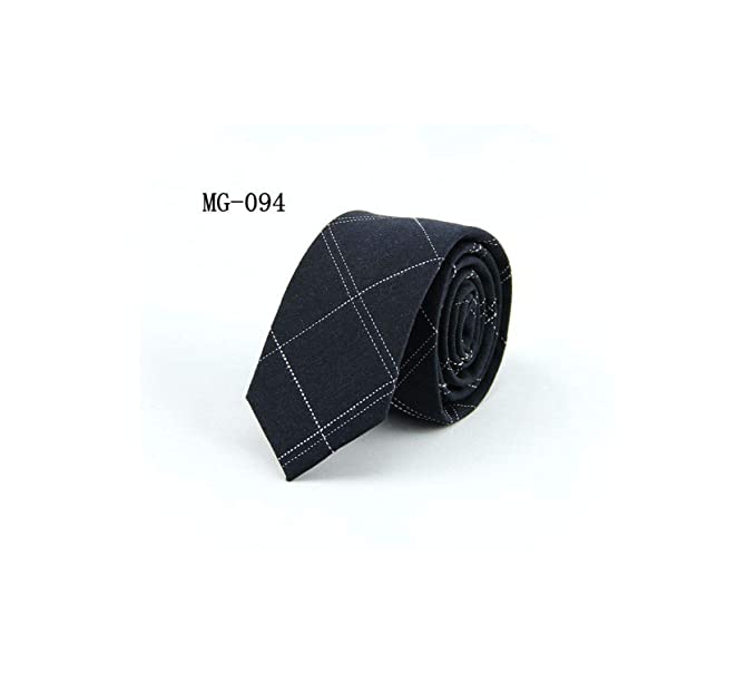 Bert-Collins corbatas para los hombres 6cm flaco mezclilla de ...