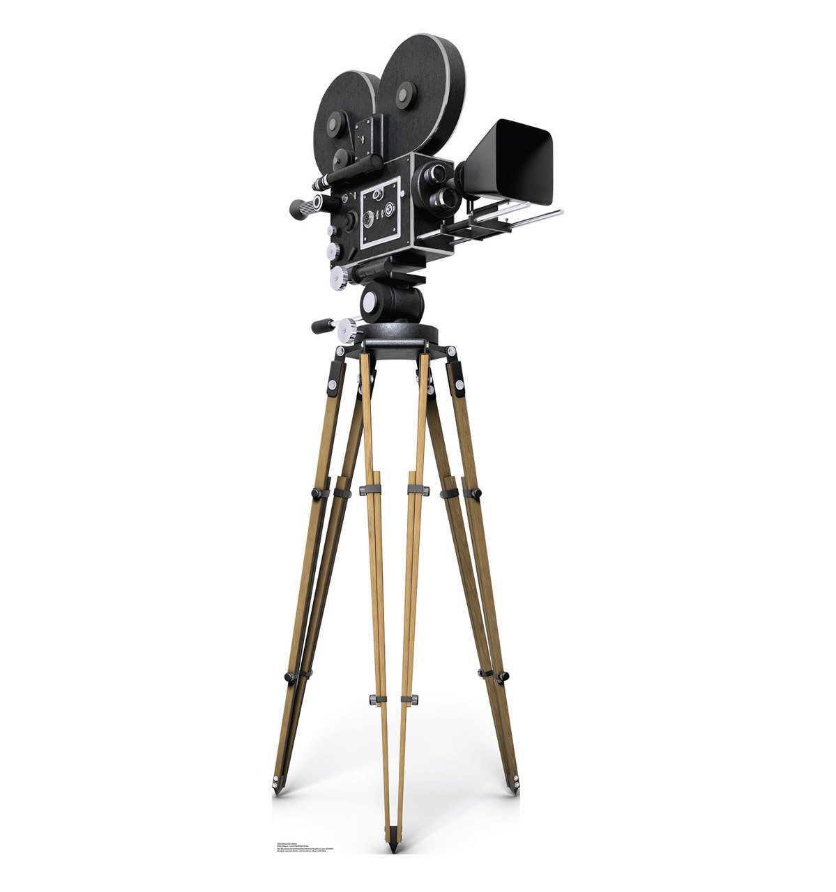 Hollywood Camera - Advanced Graphics Life Size Cardboard Standup