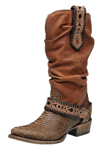 5b2db2f11db Amazon.com | Cuadra Python Western Boots 1X09PH | Boots