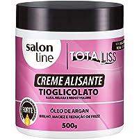 Creme Alisante - Argan Oil Forte - 500G, Salon Line, Salon Line