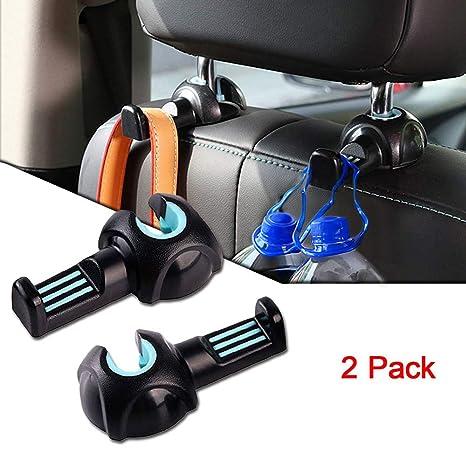 Amazon.com: Gancho de asiento de coche, reposacabezas ...