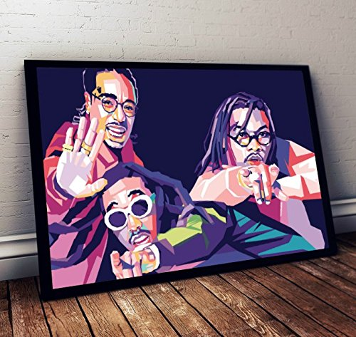 Migos Limited Poster Artwork – Professional Wall Art Merchandise (More (8×10)
