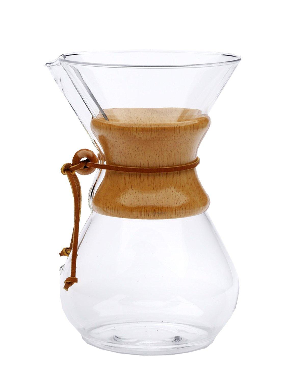 Chemex Cafetera - Juego de jarra para hasta 8 tazas (1200 ml ...