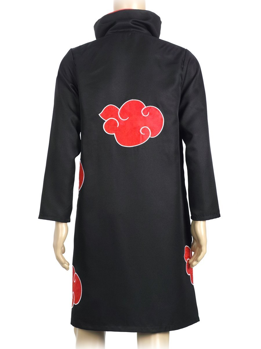 COSAUG Japanese Amine Akatsuki Costumes with Collar (XL) by COSAUG (Image #2)
