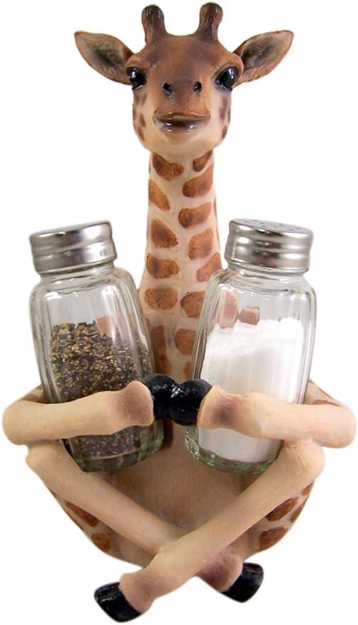 salt and pepper holder wood
