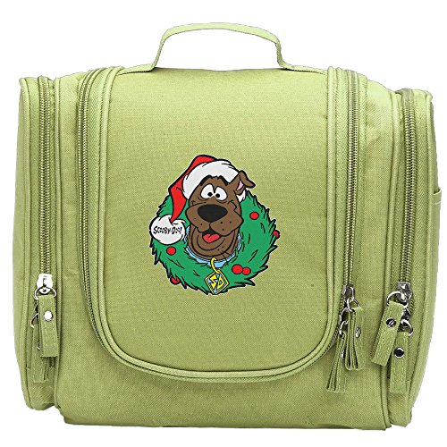 Womans Scooby-Doo Christmas Fashion Cosmetic Makeup Bag KellyGreen