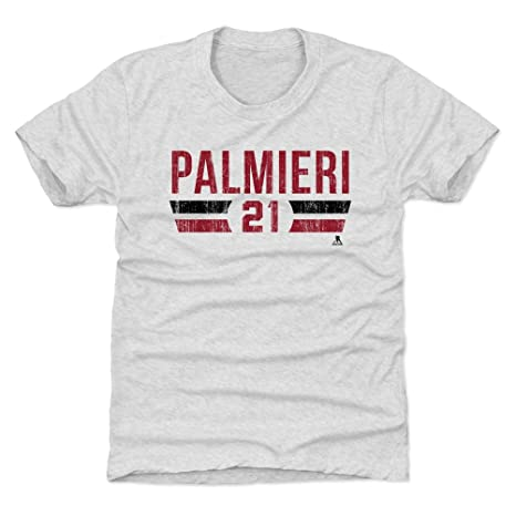 2171486f06b 500 LEVEL Kyle Palmieri New Jersey Devils Youth Shirt (Kids X-Small (4