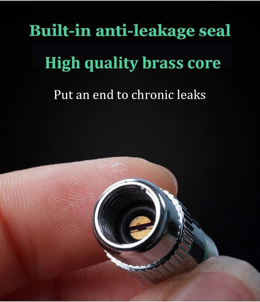 Pack of 4 Mergood TPMS Valve Stem Caps Car//Anti-Theft Tire Pressure Monitor Sensor Indicator Solid Brass Hardware 3 Color Eye Alert
