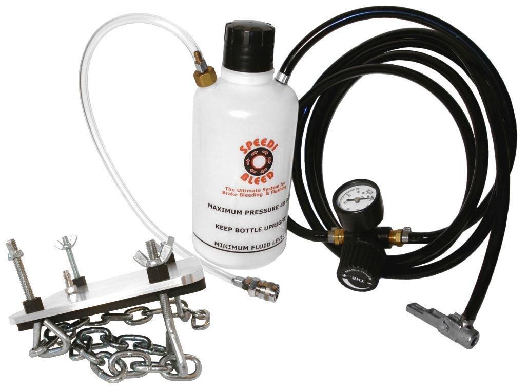 One Man Brake Bleeder DIY Kit for Domestic and American Cars & Trucks K300B by Speedi-Bleed (Image #1)
