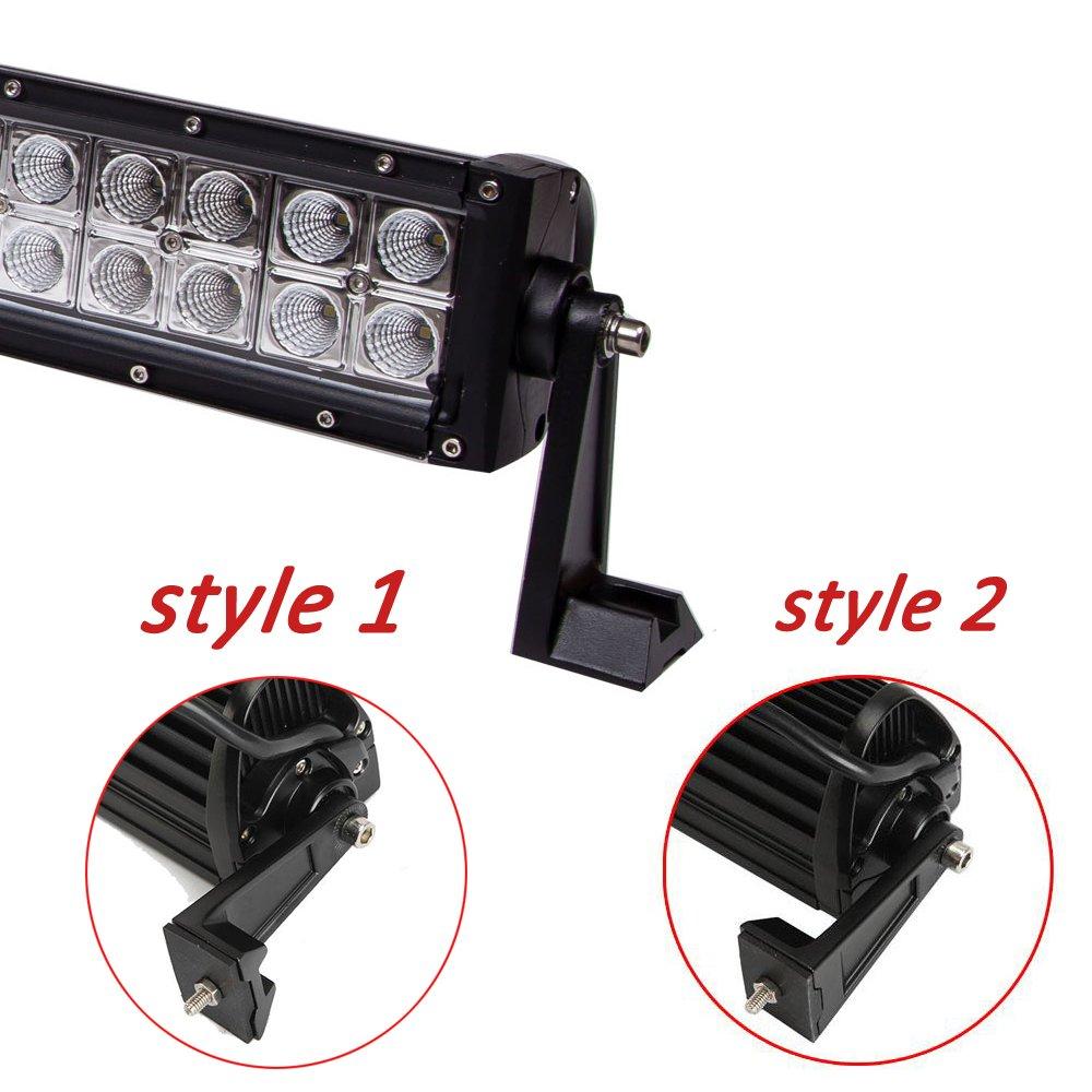 30 U0026 39  U0026 39  Straight Led Light Bar Polaris Utv Rzr4 Ranger Xp