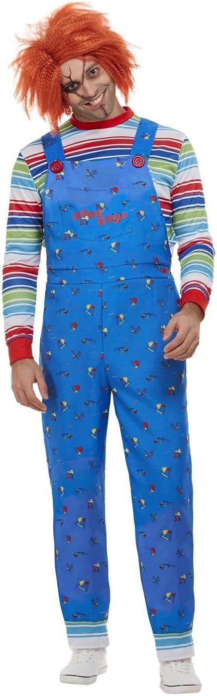 Smiffys 50265XL - Disfraz de Chucky con licencia oficial, para ...