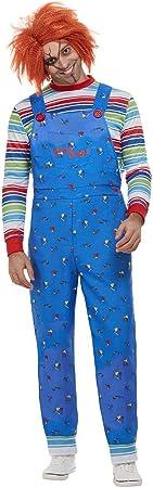 Smiffys 50265L - Disfraz de Chucky con licencia oficial, para hombre