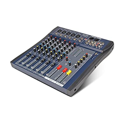 Xtuga CT-60S USB Professional Stage Audio Mixer Built-in Digital Effect Mixer with