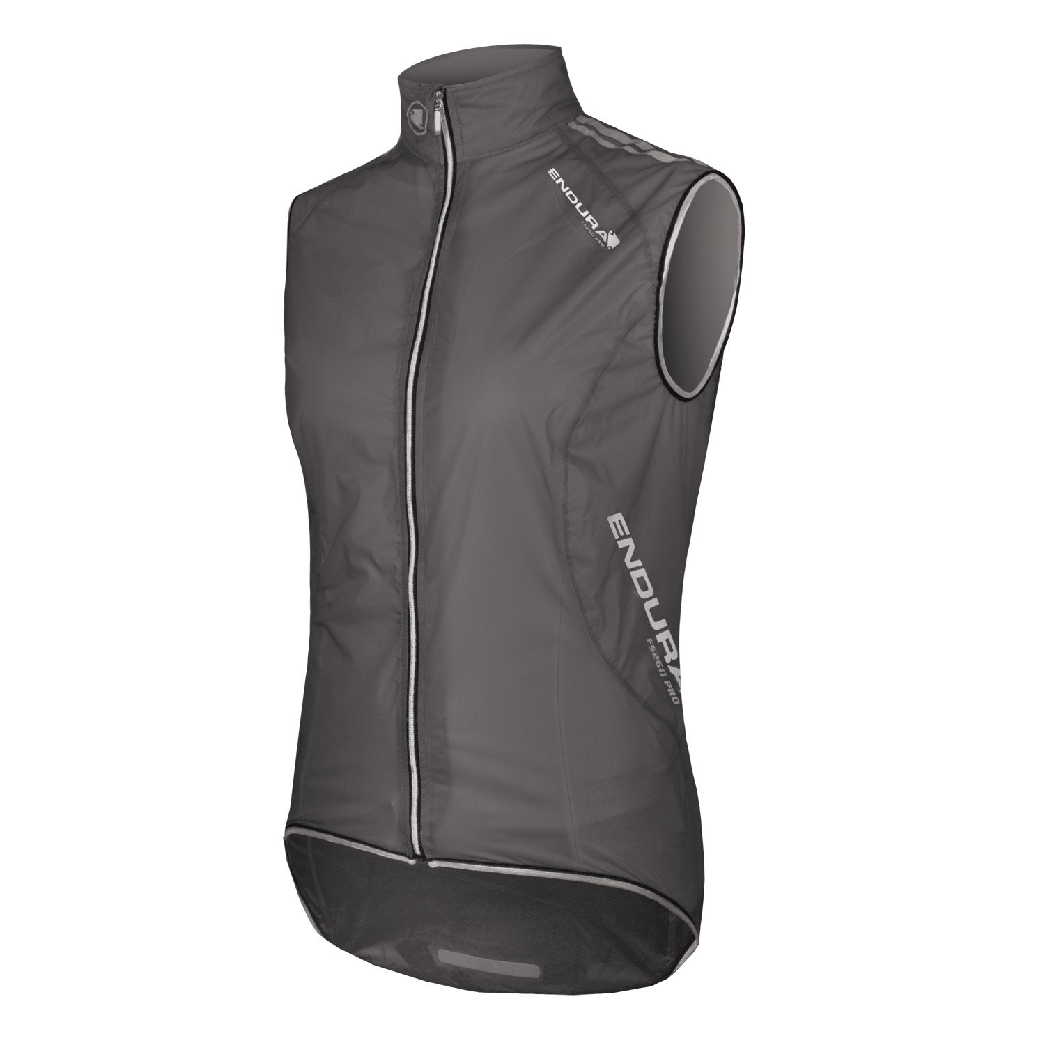 Endura Womens FS260-Pro Adrenaline Cycling Gilet Translucent Black, Small