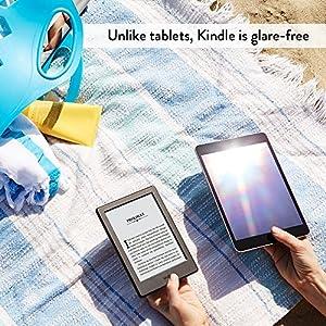 "Kindle E-reader - Black, 6"" Glare-Free Touchscreen Display, Wi-Fi"