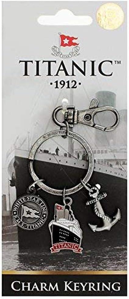 Shamrock Gift Co Titanic Charm porte-cl/és