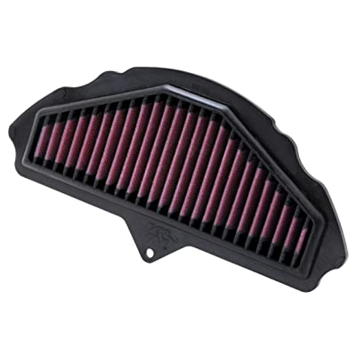 K&N Engine Air Filter: High Performance, Premium, Powersport Air Filter: 2008-2010 KAWASAKI (ZX1000 Ninja ZX-10R) KA-1008: Automotive